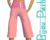 Pink Buckle Gauchos