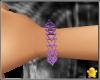 C2u Purple Link Bracelet
