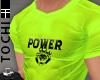 #T Power Jersey #Neon
