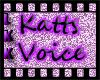 Katts voicebox