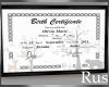 Rus Birth Certificate RE