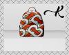 Orange B.berry Bookbag