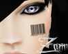 !!Z!! Face Barcode male