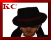 $KC$ Mafia Hat Blk/Red