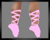{LA} Pink Ballet Slipper
