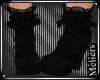 Heels & Socks Black