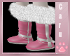 *C* Winter Pink Boots