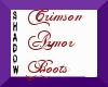 {SP} Crimson Armor Boots