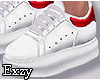 White/Red  Sneakers .