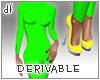 *Dona*Curvy+Heels+Nails