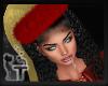Hat Golden Christmas