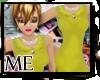 ME*Scallop Dress Mustard