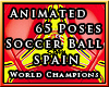 x!SPAIN Soccer Ball