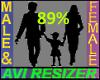 89% Short