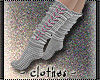 clothes - grey socks
