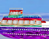 Colorful Ship W/RAVE RM