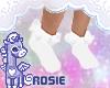 ❥ Liddo White Sockies