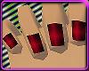 KS Nails Crimson