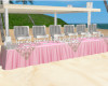 buffet table long