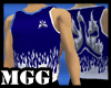 Blue Flaming Jersey