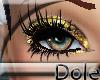 <Dole>GlitterLashesGold