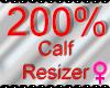 *M* Calf Resizer 200%
