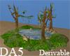 (A) Tree Pond