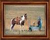 Cowgirl's Heaven Art
