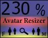 Any Avatar Size,230%