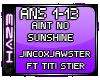 H3  Aint no Sunshine