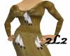 2L2 N/A Feather Dress