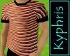 Copper Stripe Shirt