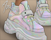 $ Holo Sneakers
