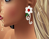 Winteria Ruby Earings