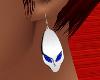 *TJ* Alien Earrings SBl