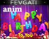 Animation Happy Birthday