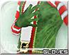 .xpx. Minty Elf Gloves