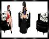 Skull PVC Chat Chairs