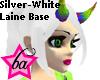 (BA) Silver-White LaineB