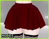 N! Mini Skirt - Wine