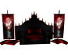 Black Red Throne w/poses