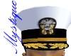 US Navy Dress White Cap