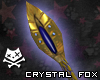 Crystal Fox Staff (M&F)