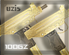 |gz| gold dble uzi guns