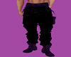 purple and black pants