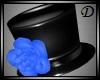 {D} Rose Hat BLUE