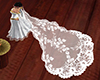 medieval wedding veil-2