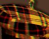 yellow plaid beret