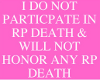 Against RP Death 2