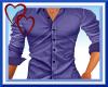 W|Purple Mens DressShirt